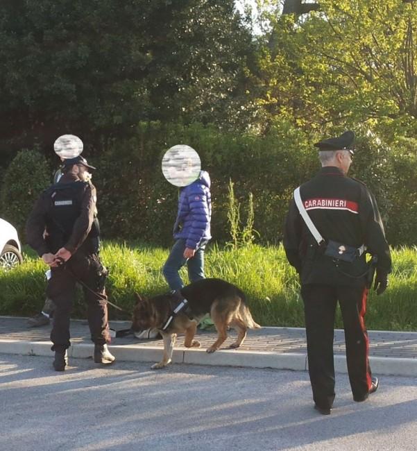Controlli scuole carabinieri Civitanova