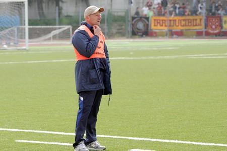 L'allenatore della Recanatese Amaolo