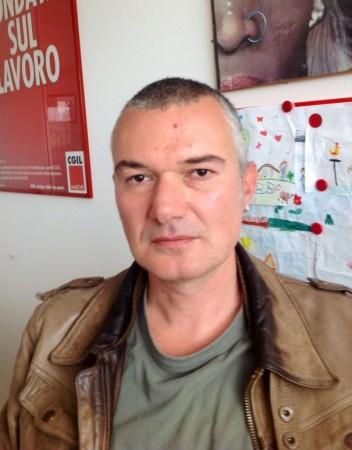 Daniel Taddei, segretario provinciale della Cgil Macerata