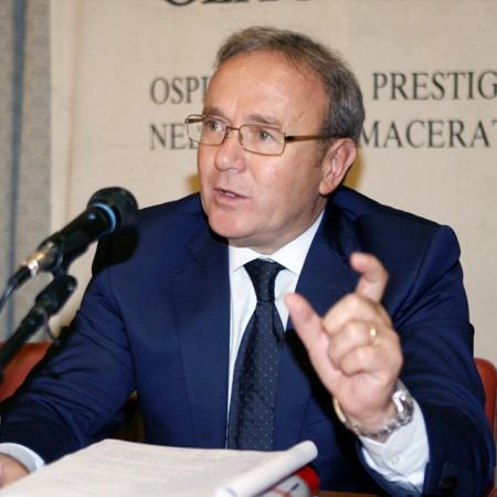 L'ex presidente della Provincia Franco Capponi