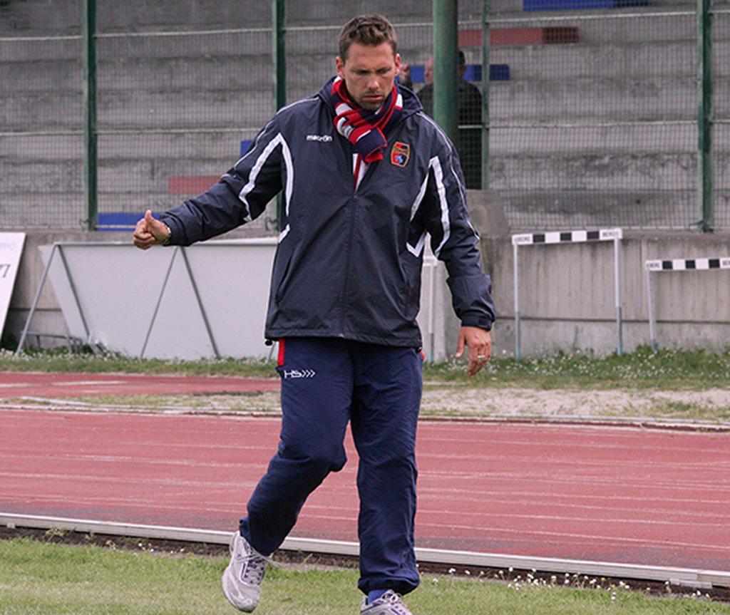 L'allenatore della Civitanovese Leonardo Gabbanini