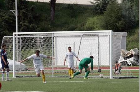 Giorgio Galli in gol