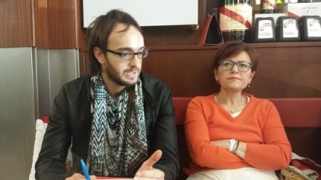 Marco Guzzini e Anna Menghi