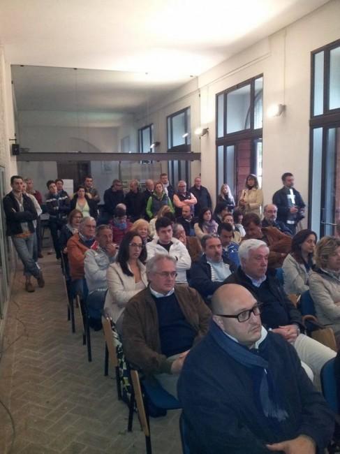 Il pubblico in sala Biagetti