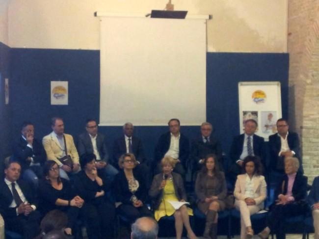 Nella sala Biagetti Rosalba Ubaldi presenta la squadra di Grande Futuro per Porto Recanati