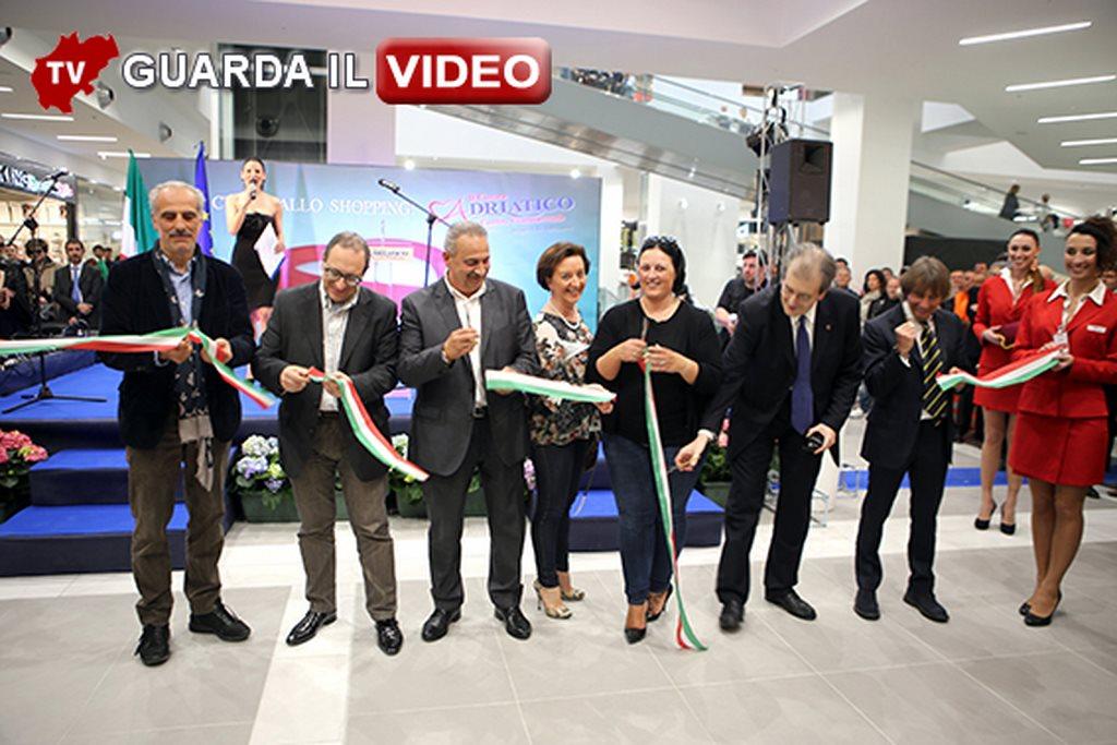 L'inaugurazione del Cuore dell'Adriatico (clicca sull'immagine per guardare il video)