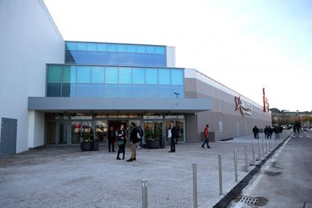 Il centro commerciale Cuore Adriatico a Civitanova