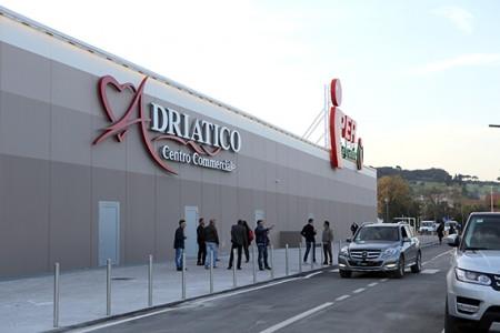 Il centro commerciale Cuore Adriatico, una delle grandi opere realizzate dalla Civita Park