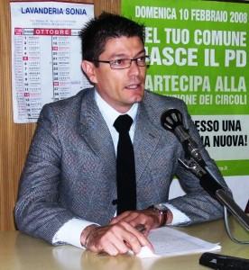 Il vicesindaco Lorenzo Riccetti