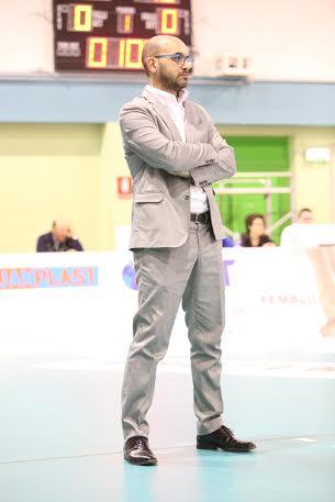 Michele Totire, coach della nazionale under 20 italiana