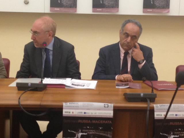 Luigi Lacchè e Francesco Adornato