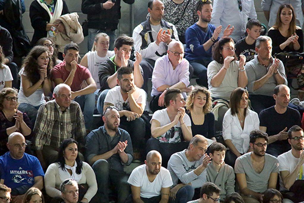I tifosi della Lube al Bala Baldinelli