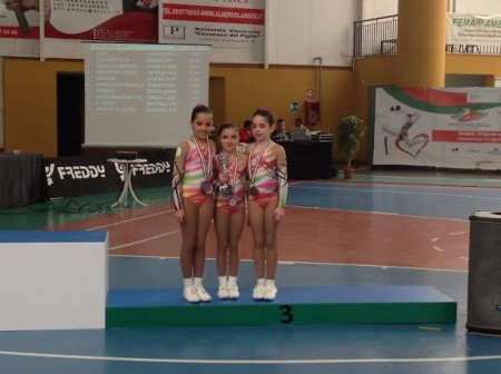 Trio Allieve aerobica