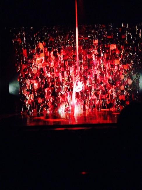 Spettacolo circense a teatro