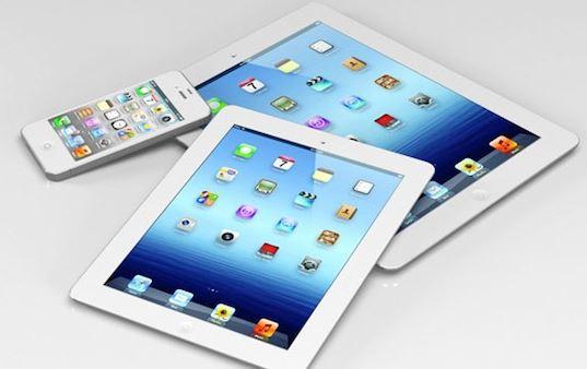 Vari modelli di iPhone e iPad