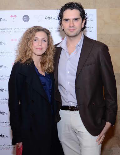 Stefano Parcaroli Direttore Commerciale Med Store e Laura Mirabella Coordinatrice dei Punti Vendita