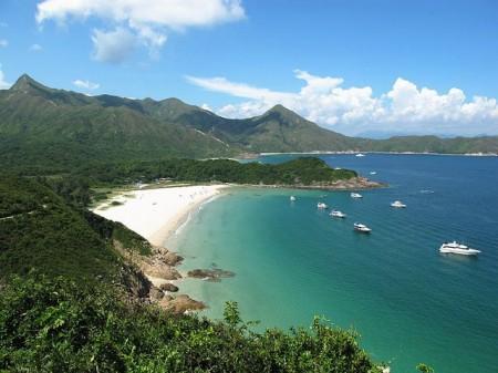 Spiaggia di Hong Kong