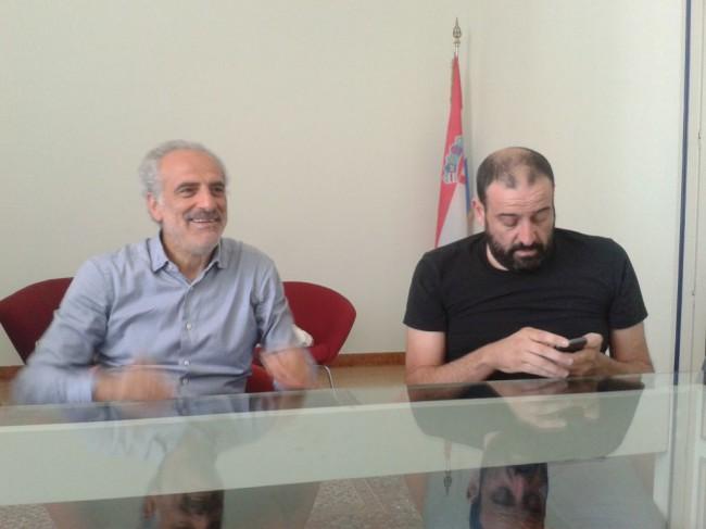 Giulio Silenzi assessore al turismo e Marco Scarpetta vicepresidente Abat