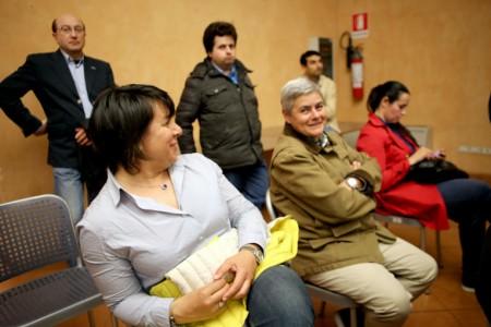 Tra il pubblico anche Maria Francesca Tardella, presidente della Maceratese