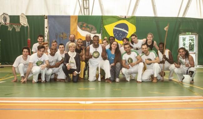 Il gruppo del Capoeira