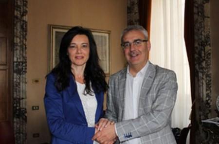 Sabrina Montali e Romano Carancini