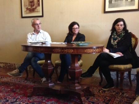 Romano Carancini, Federica Curzi e Giuliana Carassai