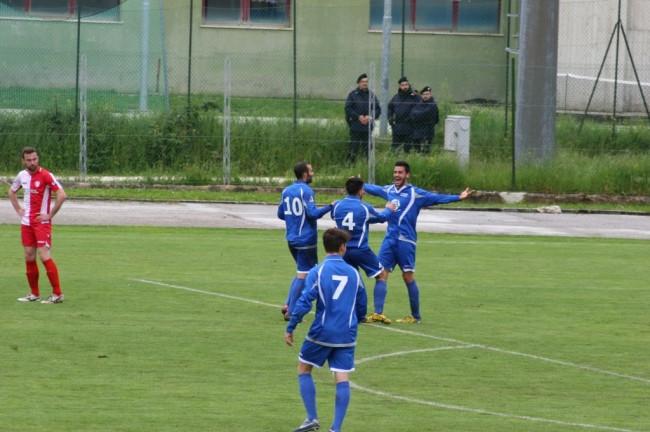 Esultanza terzo gol
