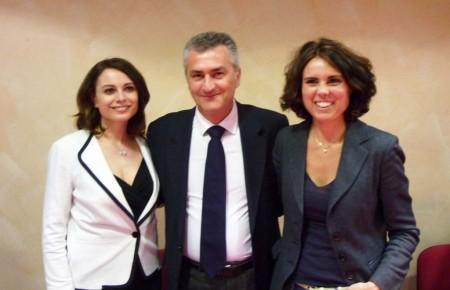 Al centro Fausto Cavalieri