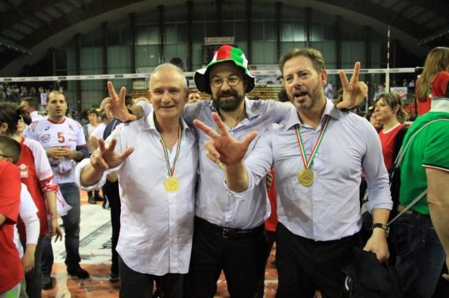 Giulianelli, Cadeddu e Giuliani