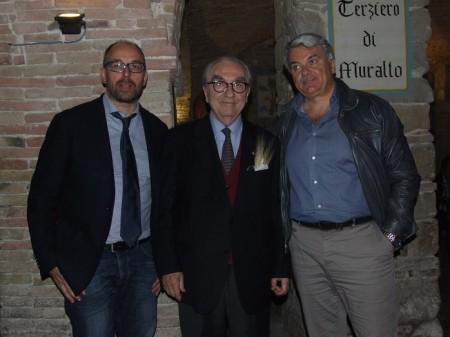 Gualtiero Marchesi in visita alle taverne