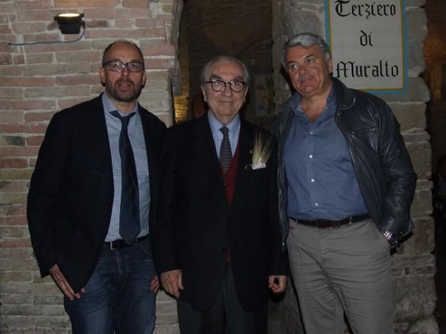 Gualtiero Marchesi in visita alle taverne (1)