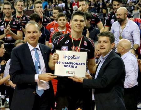 Marko Podrascanin, miglior giocatore della finale