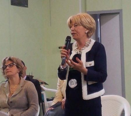 La sindaco uscente Rosalba Ubaldi presenta i componenti la lista Grande Futuro per Porto Recanati_2