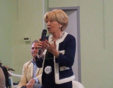 il sindaco uscente Rosalba Ubaldi presenta i componenti la lista Grande Futuro per Porto Recanati_3