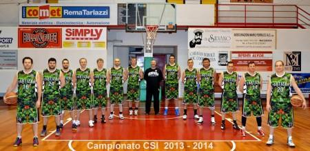 La formazione del Partizan Macerata al completo