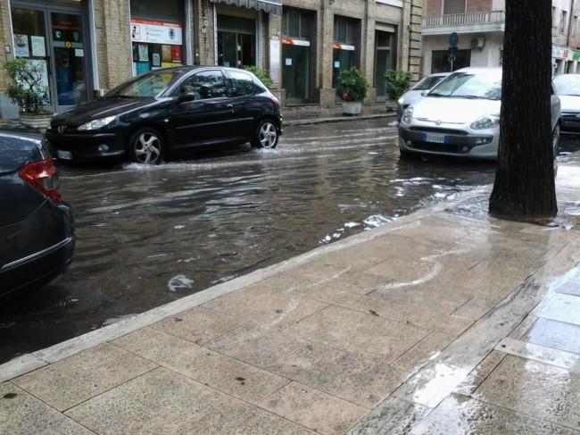 Pioggia Civitanova Marche (1)