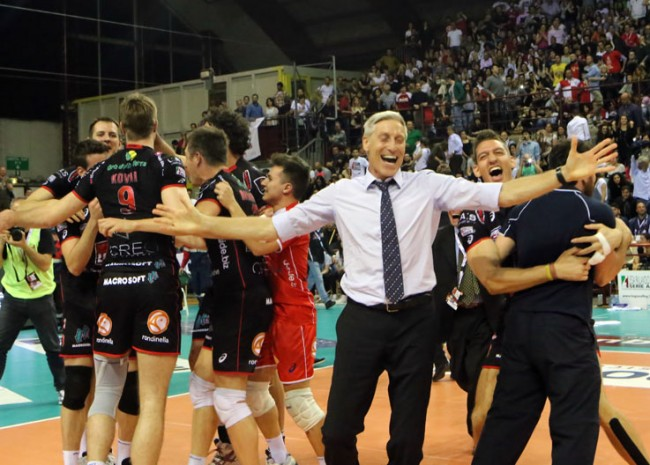 Il direttore sportivo Stefano Recine