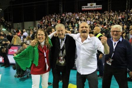 Sileoni Giulianelli vittoria scudetto lube 2014