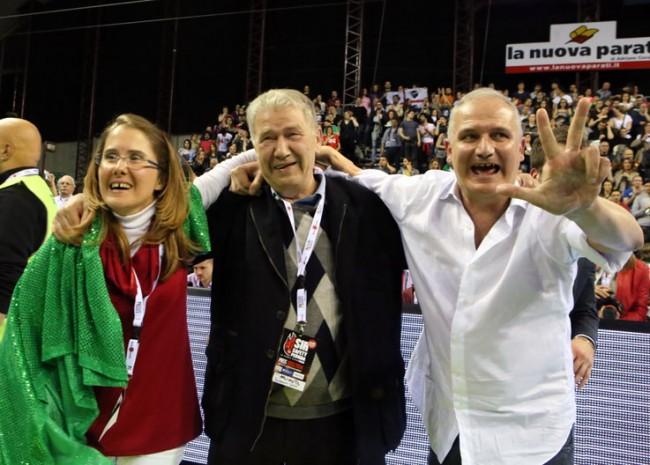 Simona Sileoni, Luciano Sileoni e Fabio Giulianelli
