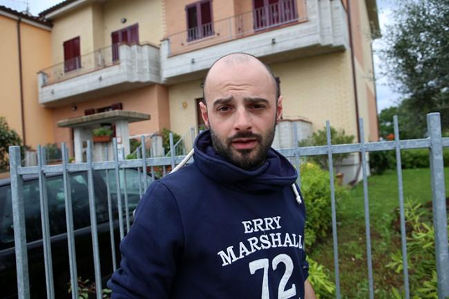 Mauro Fioravanti, il proprietario di una delle villette