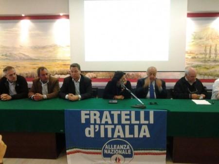 Fratelli d'Italia su Giorgio Almirante