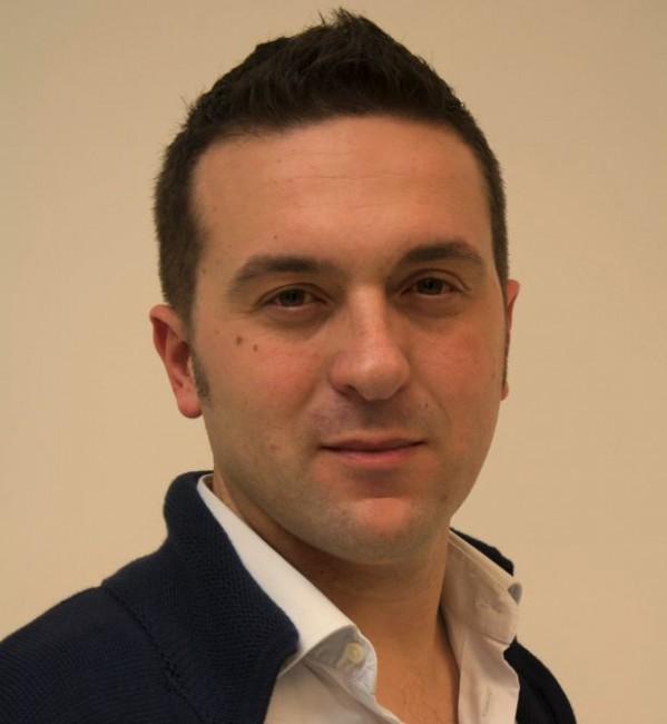 Il candidato sindaco Andrea Mozzoni
