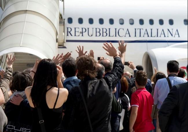 arrivo_aereo_congo_palazzo_chigi