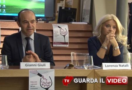 Gianni Giuli e Lorenza Natali (clicca sull'immagine per guardare il video)