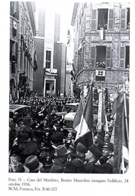 L'inaugurazione nel 1936
