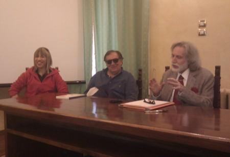 Stefania Cittadini, (vicepresidente) e Alfonso Cacchiarelli (presidente)