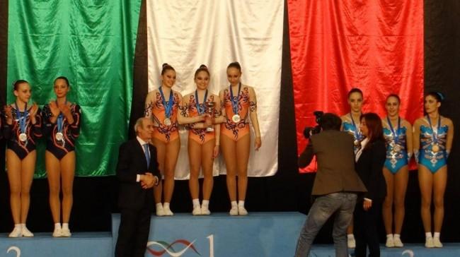 Medaglia di bronzo al trio Junior B