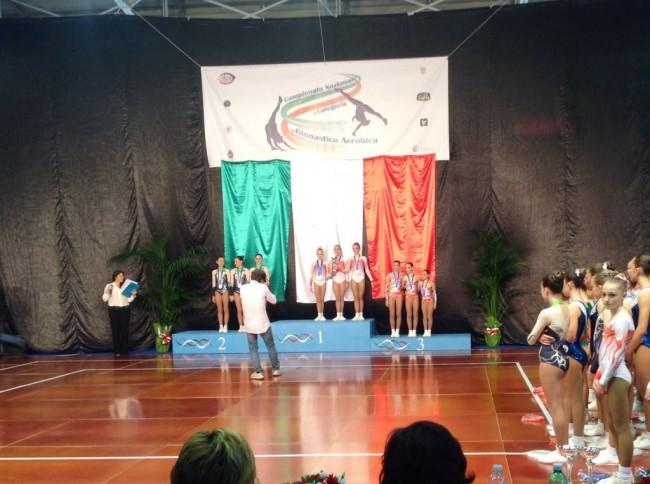 Trio Junior A medaglia di bronzo