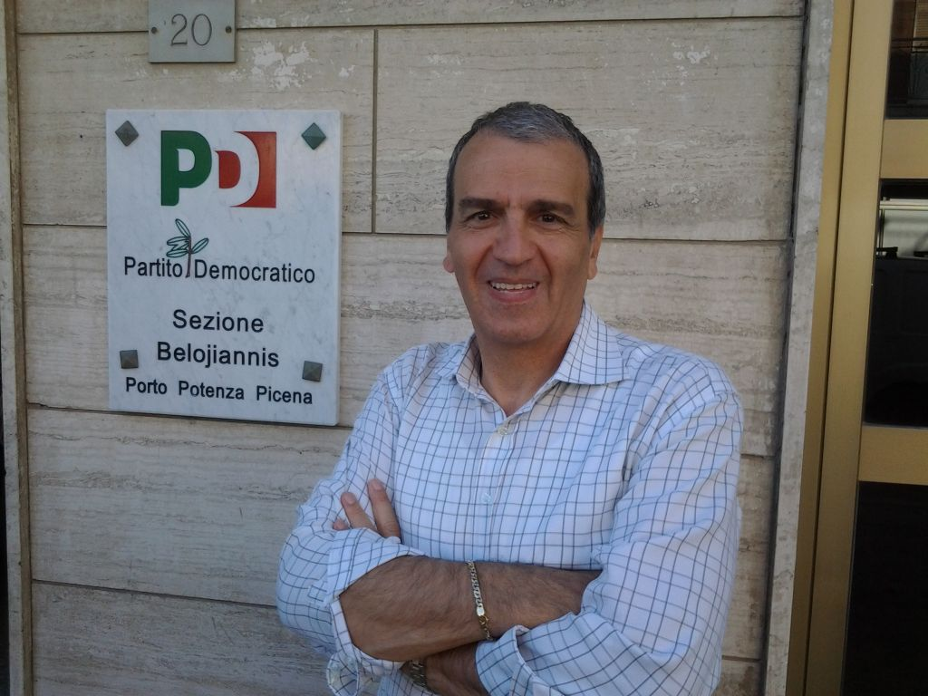 Il senatore Pd Mario Morgoni