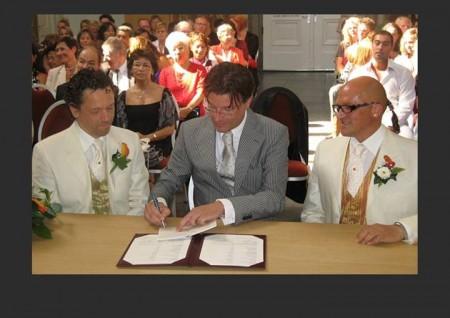 Il matrimonio di Fausto Schermi e